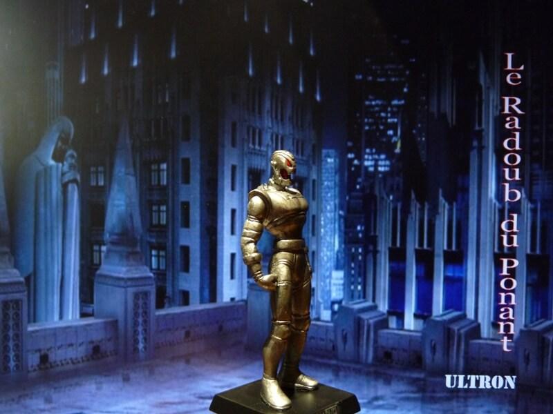 Ultron - Figurine en plomb Mlun810