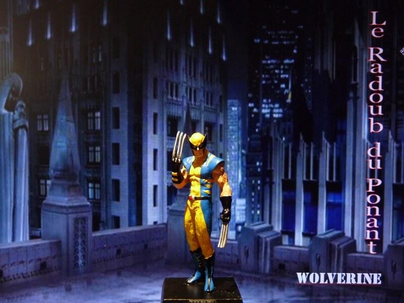Wolverine - Figurine en plomb Mlwe110