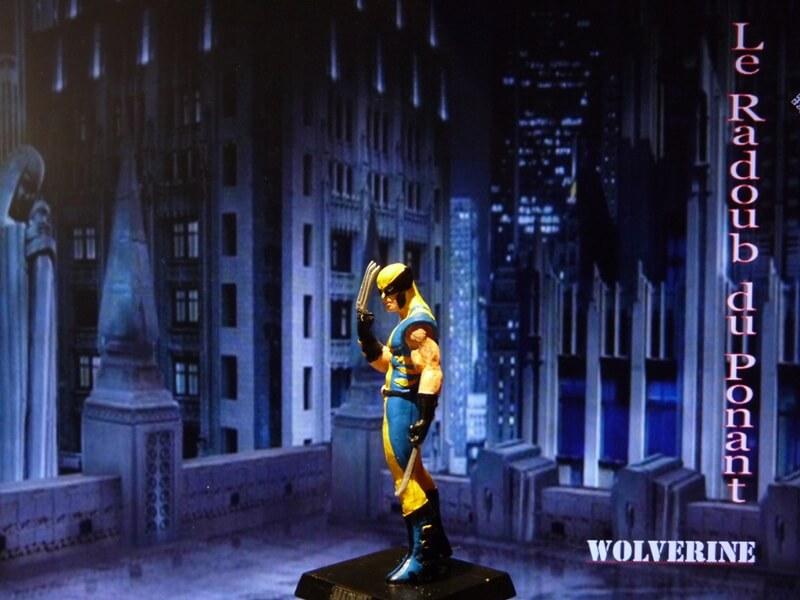 Wolverine - Figurine en plomb Mlwe210