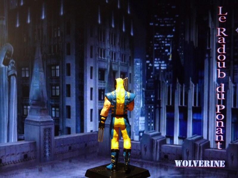 Wolverine - Figurine en plomb Mlwe410