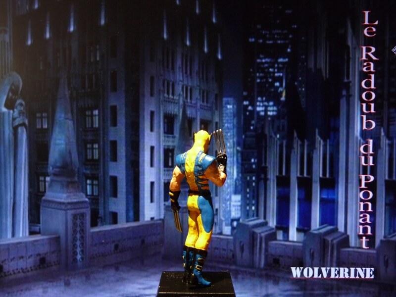 Wolverine - Figurine en plomb Mlwe510