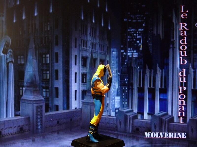Wolverine - Figurine en plomb Mlwe610