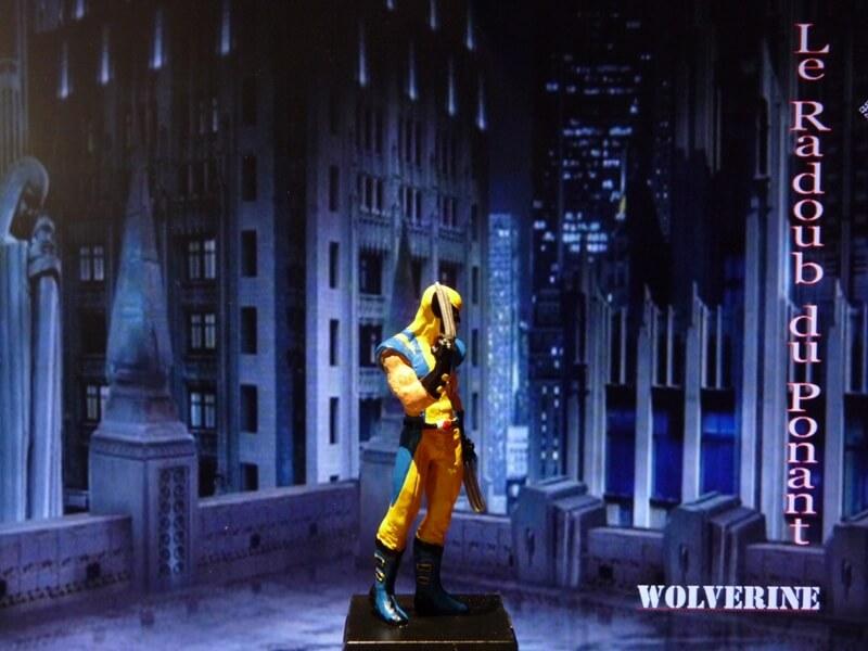 Wolverine - Figurine en plomb Mlwe710