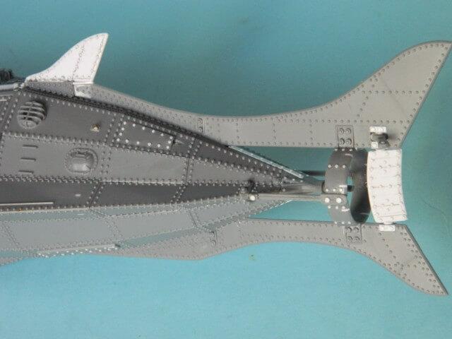 NAUTILUS Pegasus - 1/144 - Par fombec - Fini. Np03110