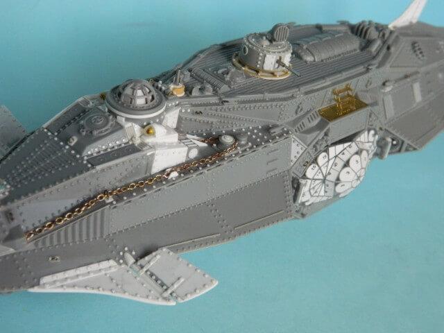 NAUTILUS Pegasus - 1/144 - Par fombec - Fini. Np05210