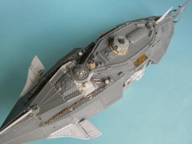 NAUTILUS Pegasus - 1/144 - Par fombec - Fini. Np05410