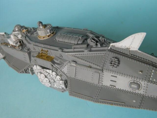 NAUTILUS Pegasus - 1/144 - Par fombec - Fini. Np05510