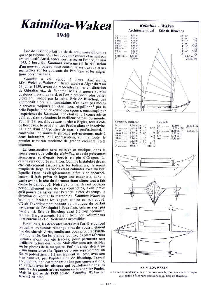 Bateaux de l'aventure - Tome I - Maurice Amiet P015e10