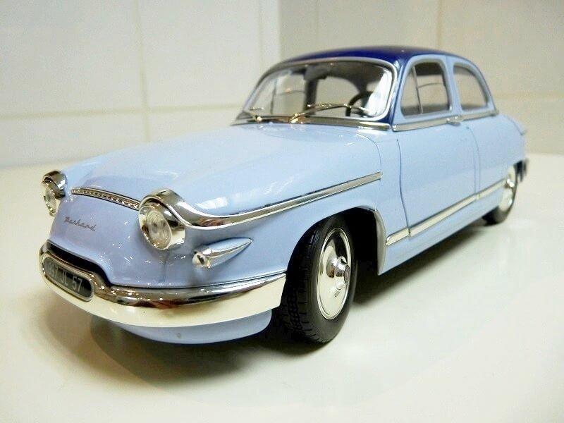 Panhard PL17 Berline - 1961 - Solido 1/18 ème Panhar14