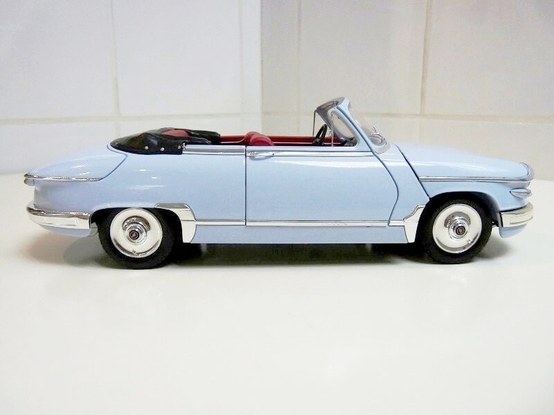 Panhard PL17 Cabriolet - 1962 - Solido 1/18 ème Panhar18