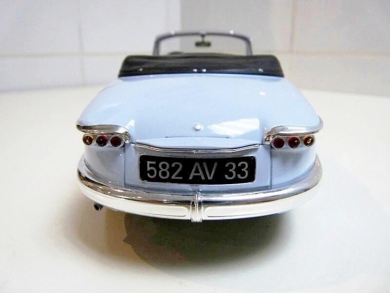 Panhard PL17 Cabriolet - 1962 - Solido 1/18 ème Panhar19