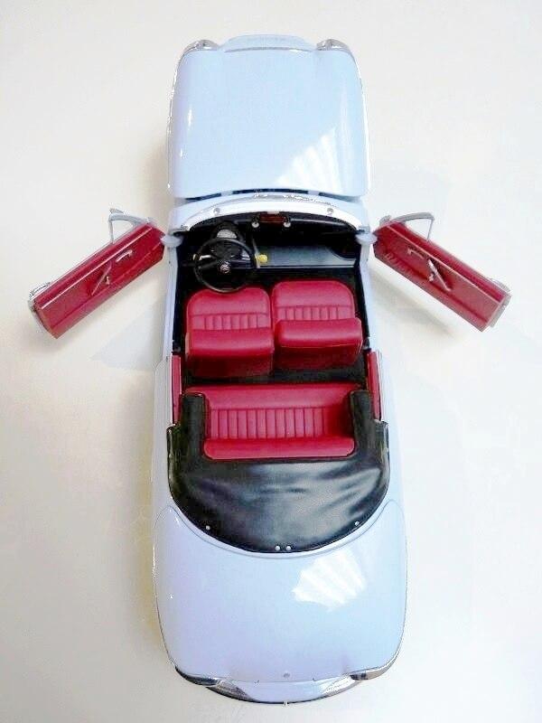 Panhard PL17 Cabriolet - 1962 - Solido 1/18 ème Panhar20