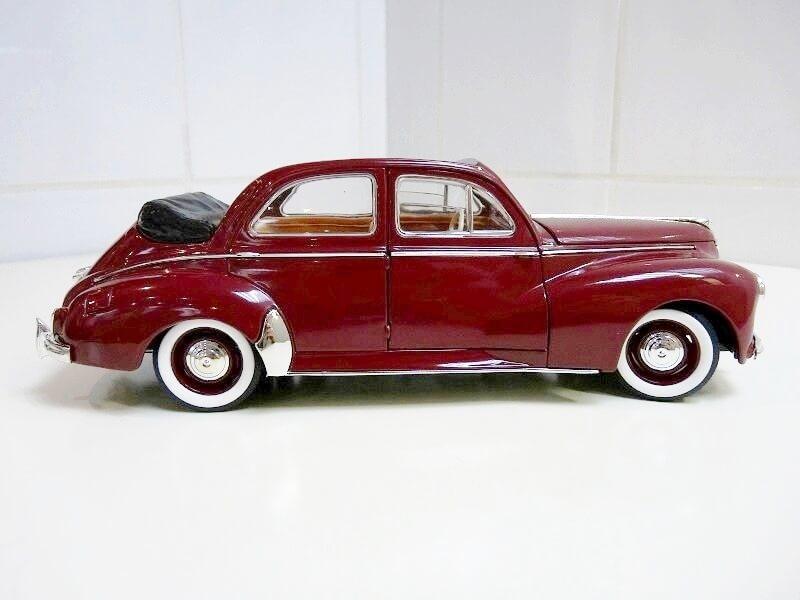 Peugeot 203 Découvrable - 1949 - Solido 1/18 ème Peugeo11