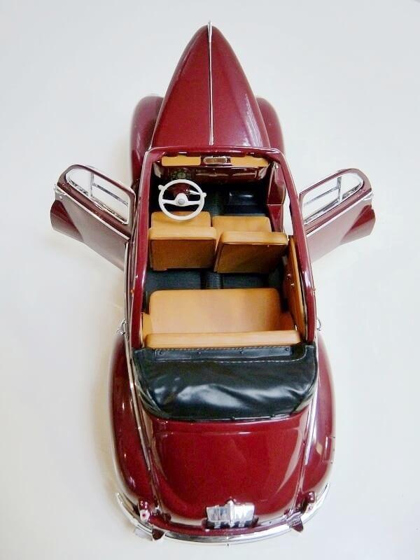 Peugeot 203 Découvrable - 1949 - Solido 1/18 ème Peugeo12