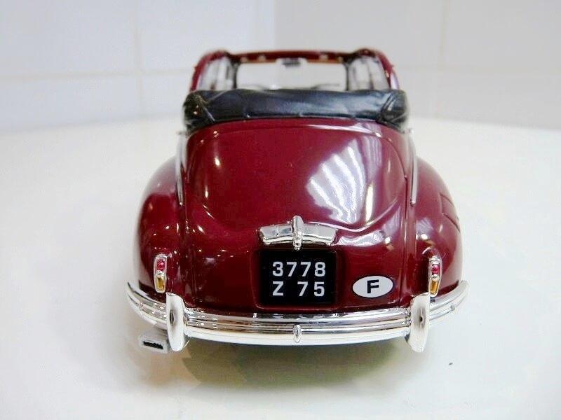 Peugeot 203 Découvrable - 1949 - Solido 1/18 ème Peugeo13