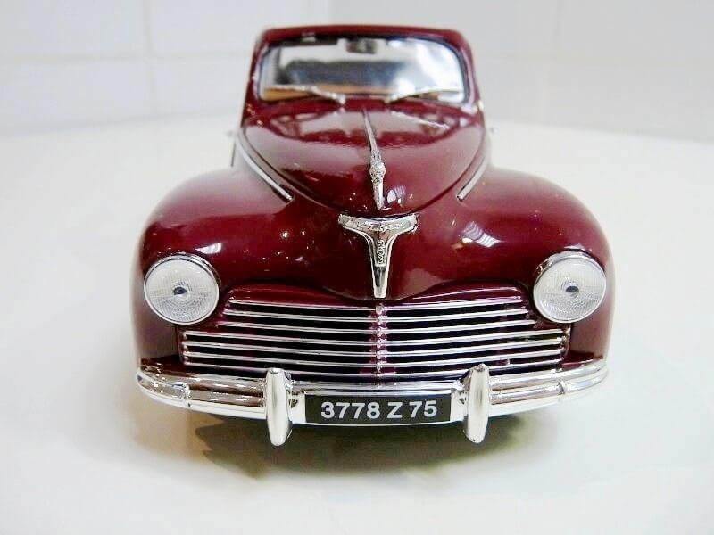 Peugeot 203 Découvrable - 1949 - Solido 1/18 ème Peugeo14