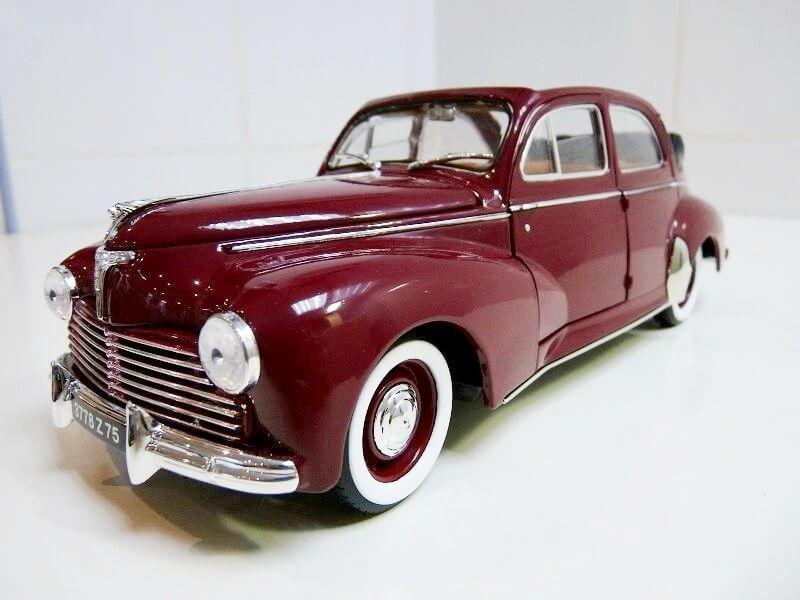Peugeot 203 Découvrable - 1949 - Solido 1/18 ème Peugeo15