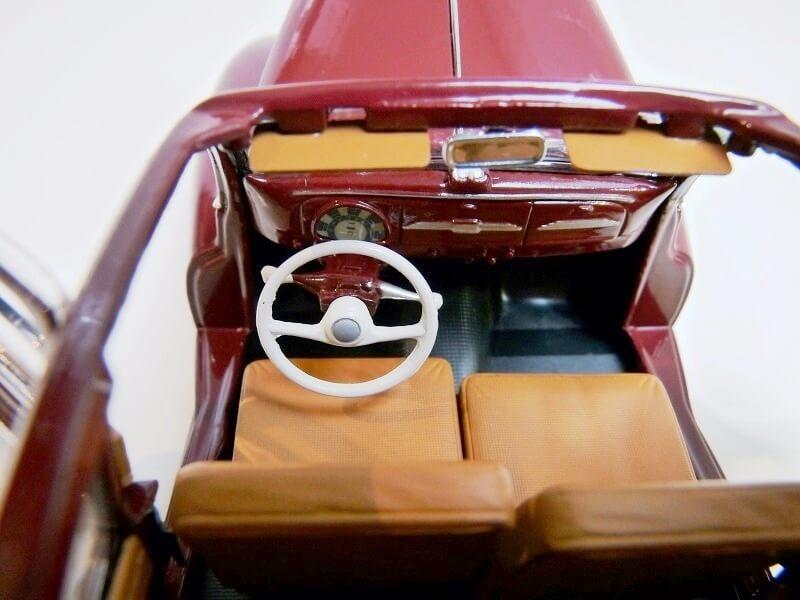 Peugeot 203 Découvrable - 1949 - Solido 1/18 ème Peugeo16