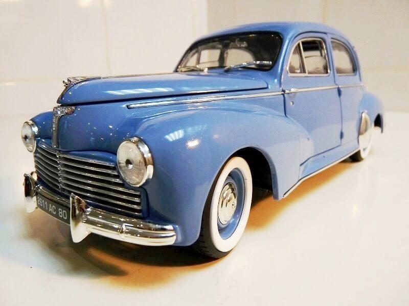 Peugeot 203 - 1950 - Solido 1/18 ème Peugeo21