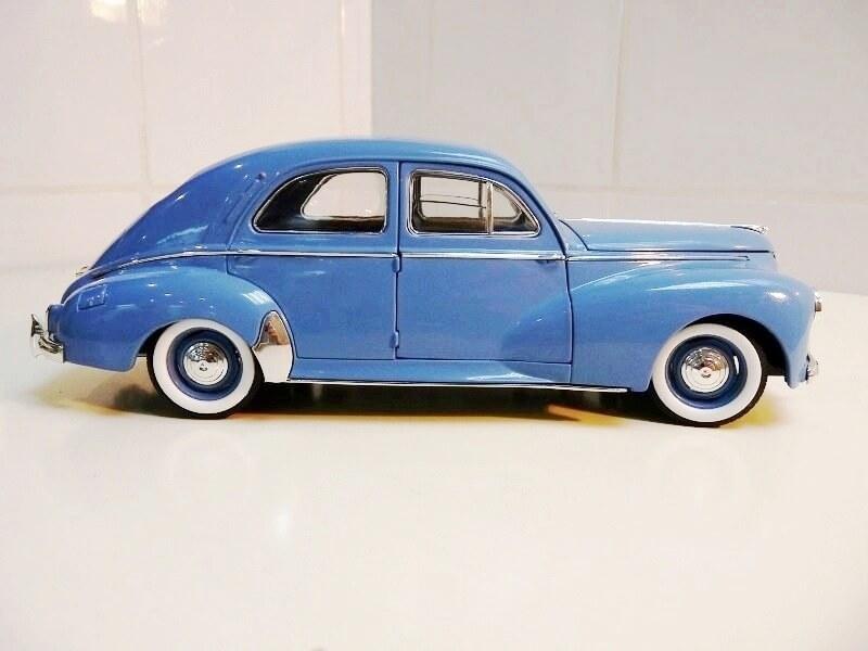 Peugeot 203 - 1950 - Solido 1/18 ème Peugeo23