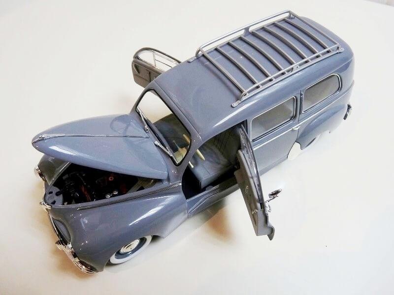 Peugeot 203 Limousine Familiale - 1950 - Solido 1/18 ème Peugeo30