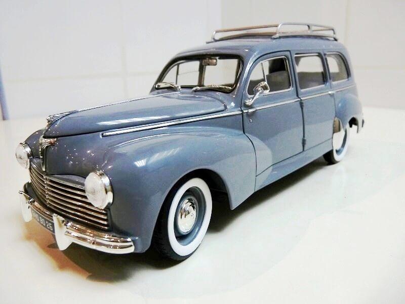 Peugeot 203 Limousine Familiale - 1950 - Solido 1/18 ème Peugeo33