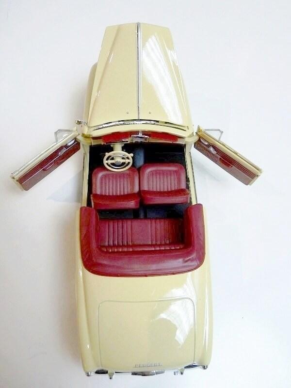 Peugeot 403 Cabriolet Grand Luxe 8ch - 1959 - Solido 1/18 ème Peugeo47