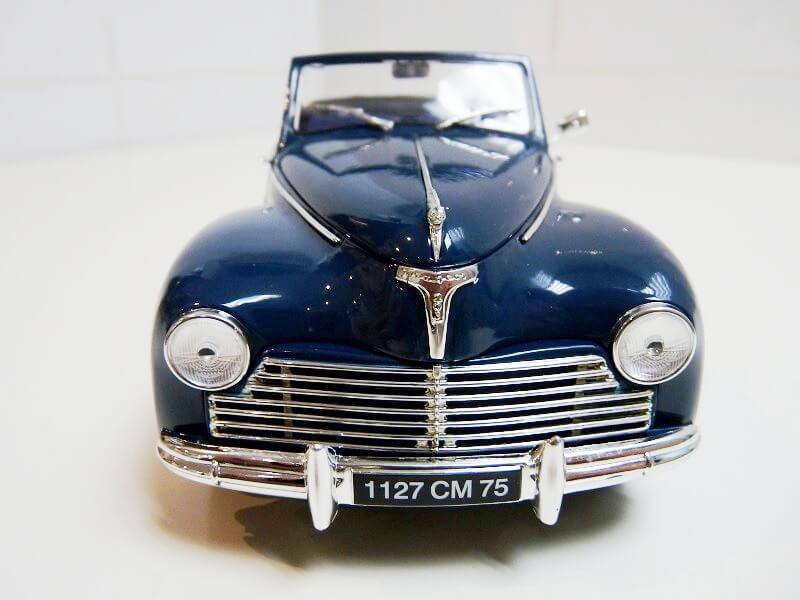 Peugeot 203 Cabriolet - 1964 - Solido 1/18 ème Peugeo52