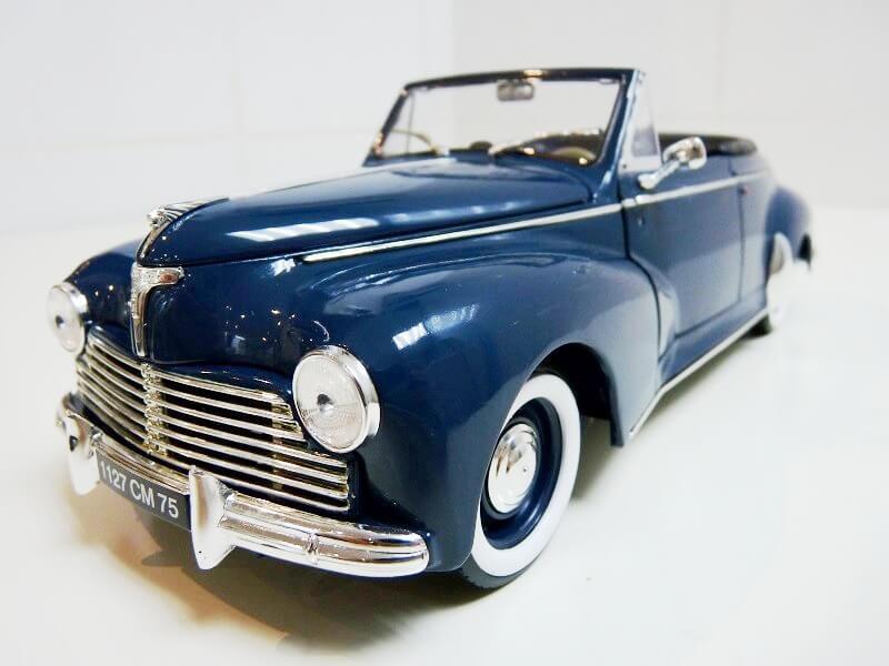 Peugeot 203 Cabriolet - 1964 - Solido 1/18 ème Peugeo53