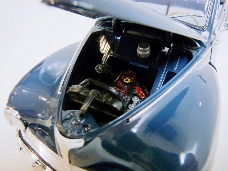 Peugeot 203 Cabriolet - 1964 - Solido 1/18 ème Peugeo57