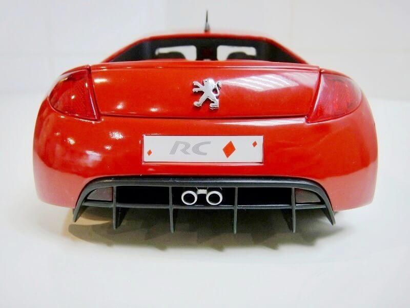 Peugeot RC Carreau - 2002 - Solido 1/18 ème Peugeo69