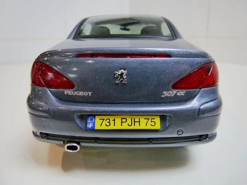 Peugeot 307 cc - 2003 - Solido 1/18 ème Peugeo79