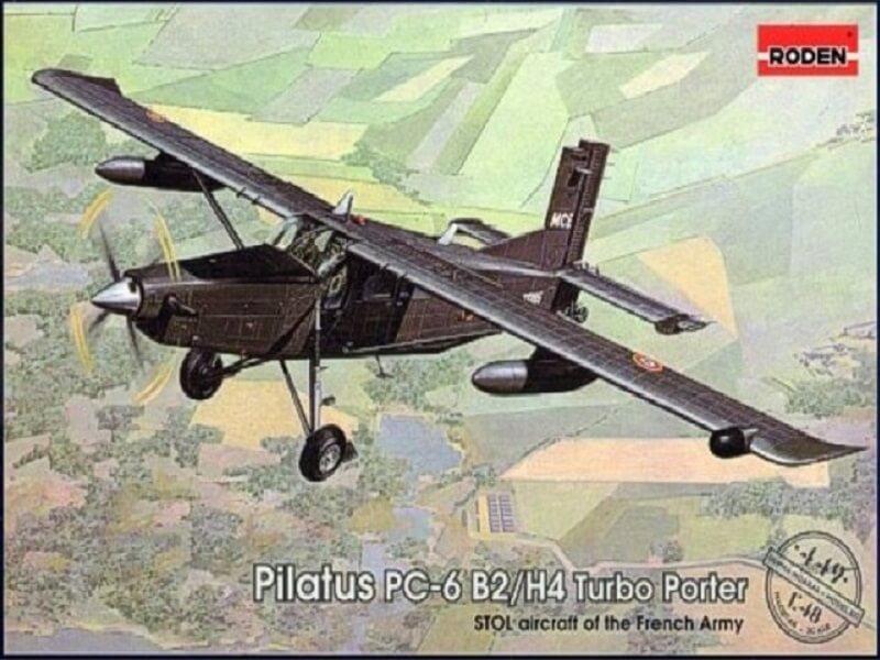 Pilatus PC-6/B2-H4 -. Roden 1/48 - Par fombec6 - Fini. Pl00010