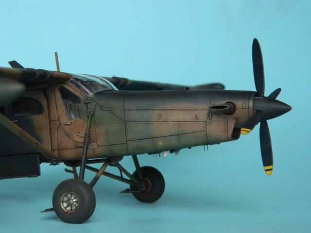 Pilatus PC-6/B2-H4 -. Roden 1/48 - Par fombec6 - Fini. - Page 2 Pl04010