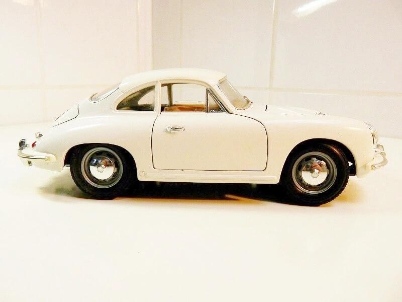 Porsche 356 B - 1961 - BBurago 1/18 ème Porsch13