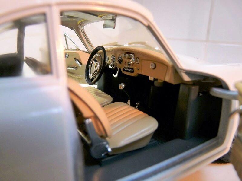 Porsche 356 B - 1961 - BBurago 1/18 ème Porsch16