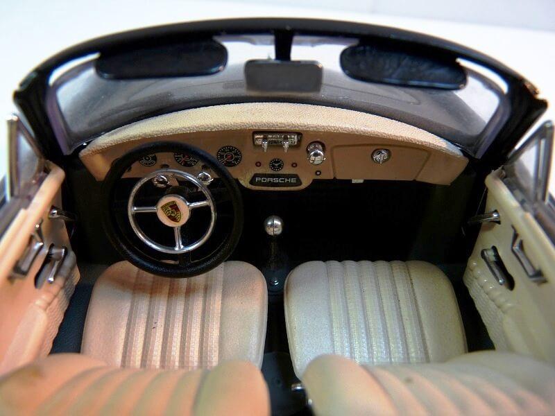 Porsche 356 S Cabriolet - 1961 - BBurago 1/18 ème  Porsch24