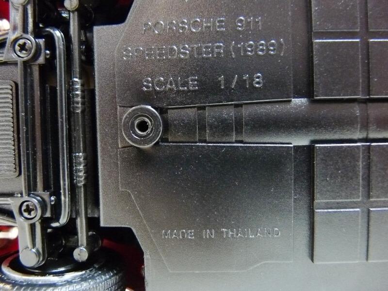 Porsche 911 Speedster - 1989 - Maisto Trophee 1/18 ème Porsch63