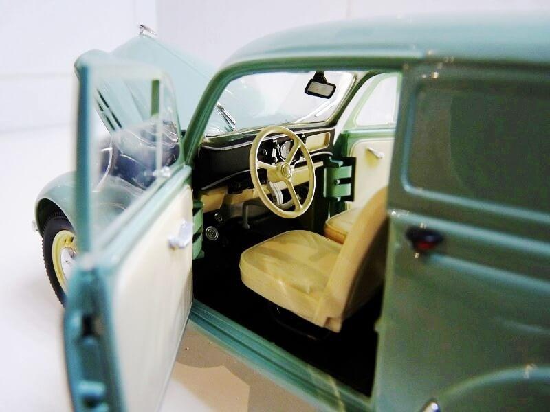 Renault Juvaquatre Utilitaire - 1938 - Solido 1/18 ème Renaul14