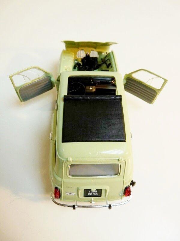 Renault 4L - 1962 - Solido 1/18 ème Renaul27
