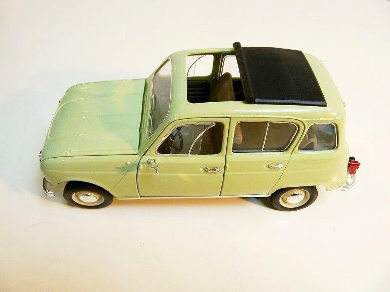 Renault 4L - 1962 - Solido 1/18 ème Renaul29