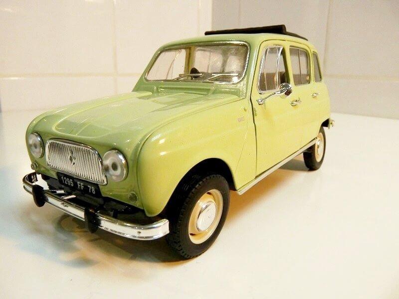 Renault 4L - 1962 - Solido 1/18 ème Renaul31