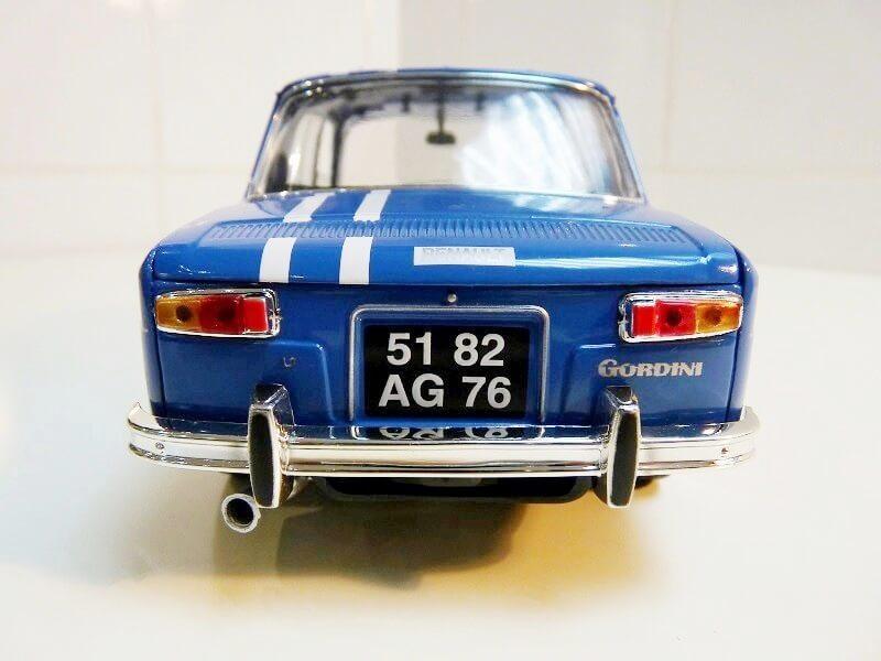 Renault 8 Gordini 1300 - 1967 - Solido 1/18 ème Renaul39