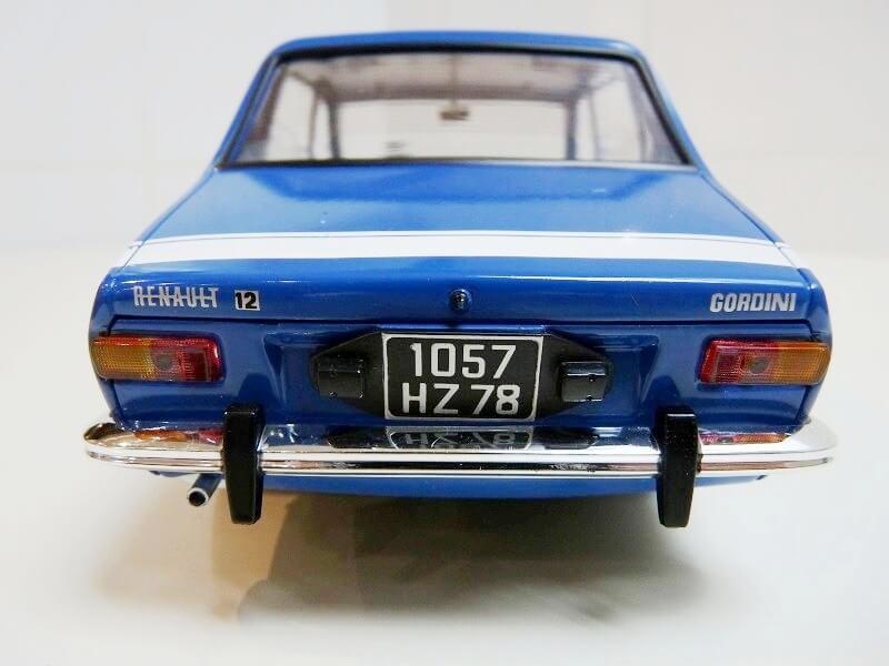 Renault 12 Gordini - 1971 - Solido 1/18 ème Renaul47