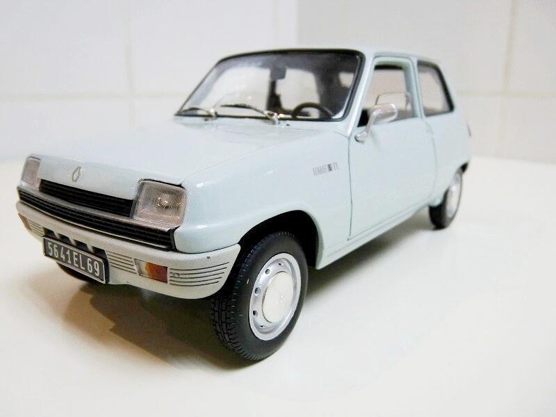 Renault 5 - 1972 - Solido 1/18 ème Renaul52