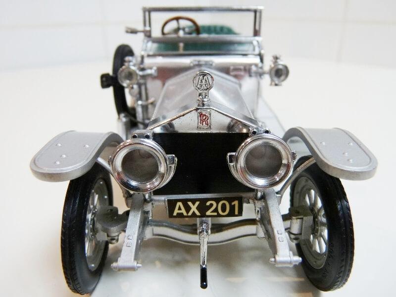Rolls Royce Silver Ghost - 1907 - Franklin Mint Précision Models 1/18 ème Rolls_12