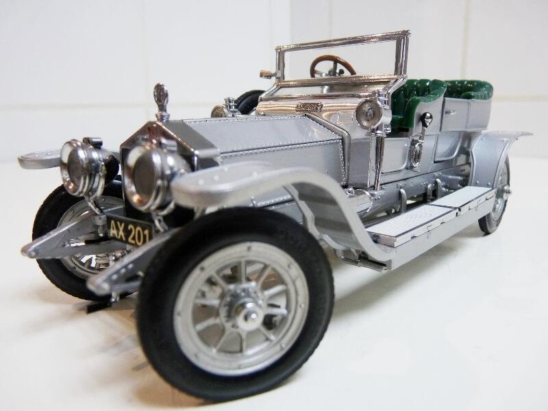 Rolls Royce Silver Ghost - 1907 - Franklin Mint Précision Models 1/18 ème Rolls_13