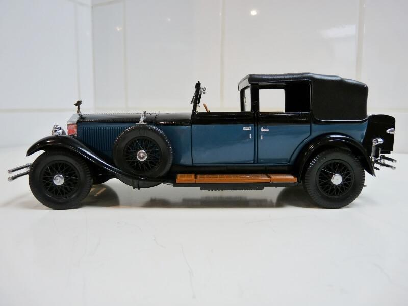 Rolls Royce Phantom I - 1929 - Franflin Mint Précision Models 1/18 ème Rolls_45