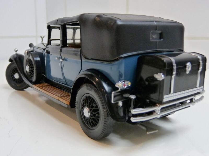 Rolls Royce Phantom I - 1929 - Franflin Mint Précision Models 1/18 ème Rolls_55
