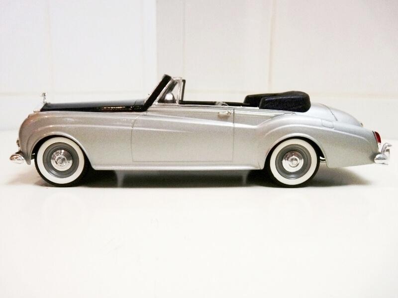 Rolls Royce Silver Cloud II Cabriolet - 1961 - Solido 1/20 ème Rolls_80